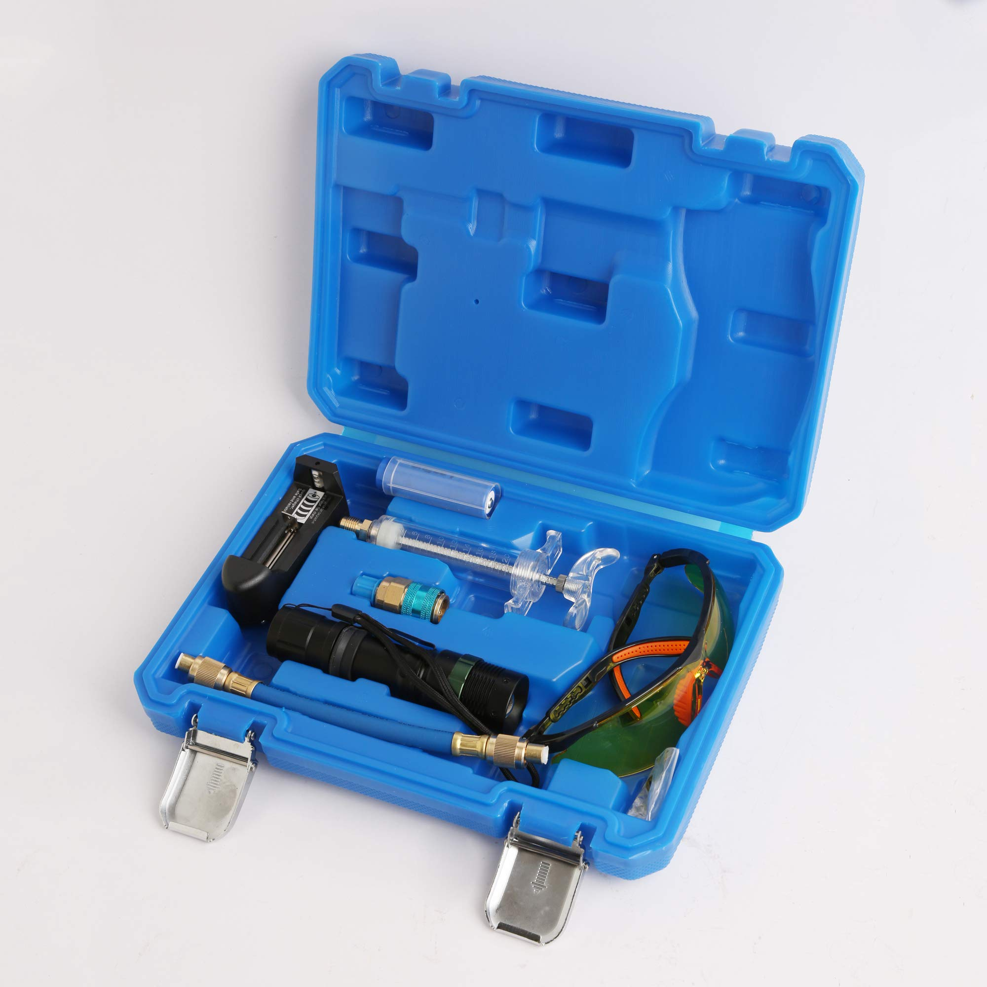 WINTOOLS 3W UV Leak Detector Led Lamp Set Rechargeable Battery Air Con Engine Gearbox Set by WINTOOLS (Image #2)