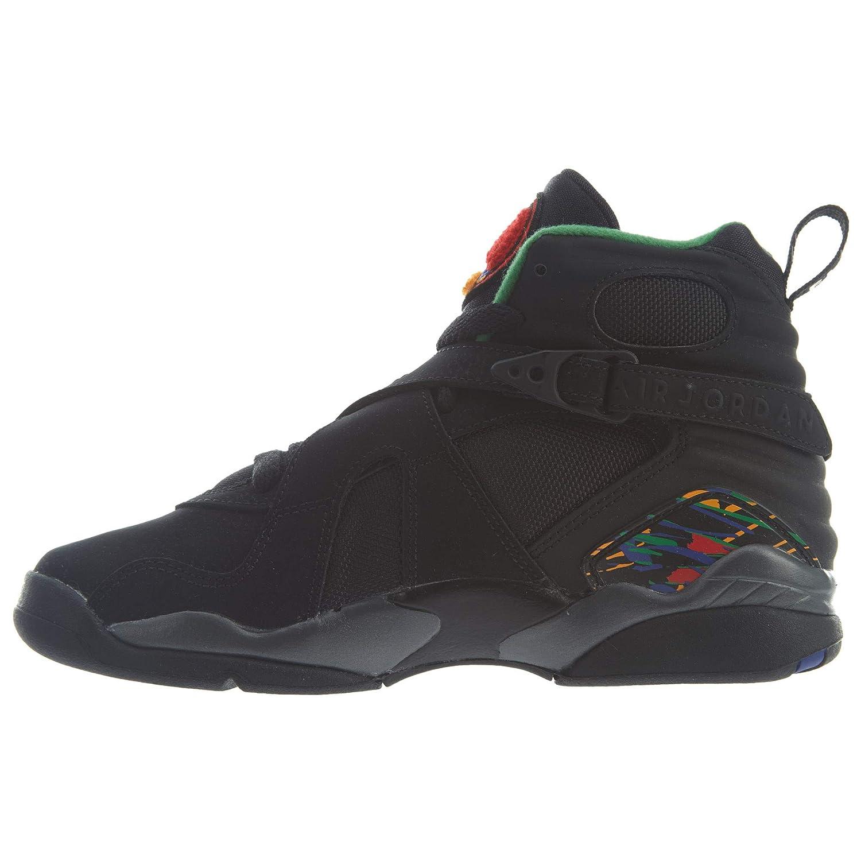 free shipping 0dbdb 6ac7d Amazon.com | Nike Air Jordan 8 Retro GS Kids Black 305368 ...