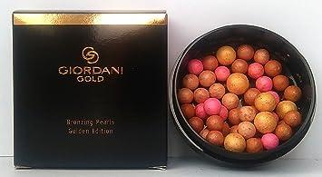 amazon com oriflame giordani gold bronzing pearls golden edition