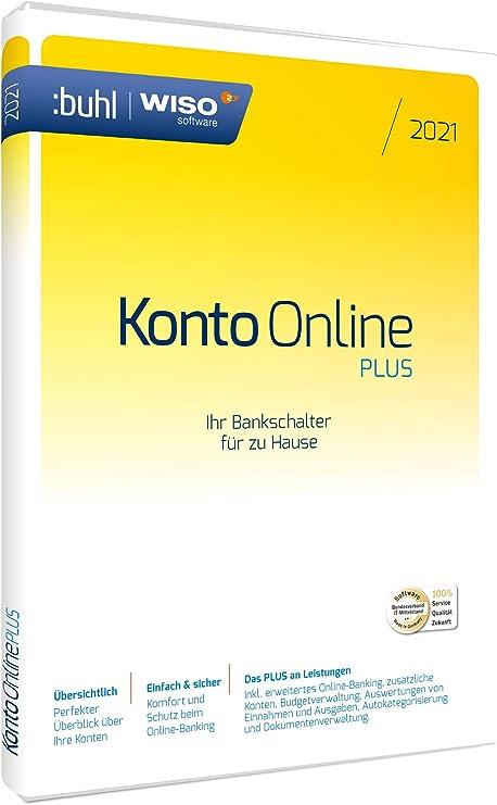 WISO Konto Online Plus 2021 (Standard Verpackung): Buhl ...