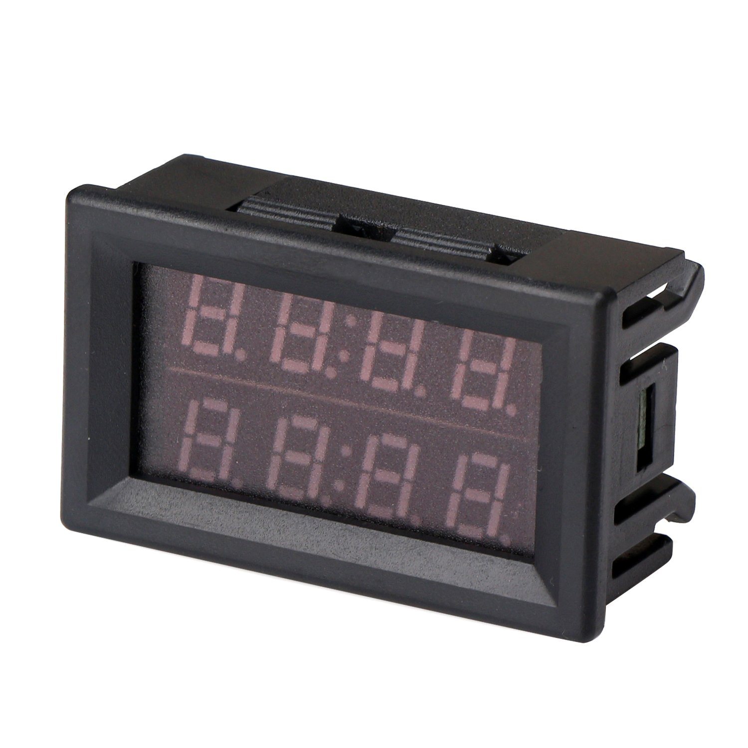 DROK LED Dual Display Voltmeter Ammeter DC 0-100V 100A Voltage ...