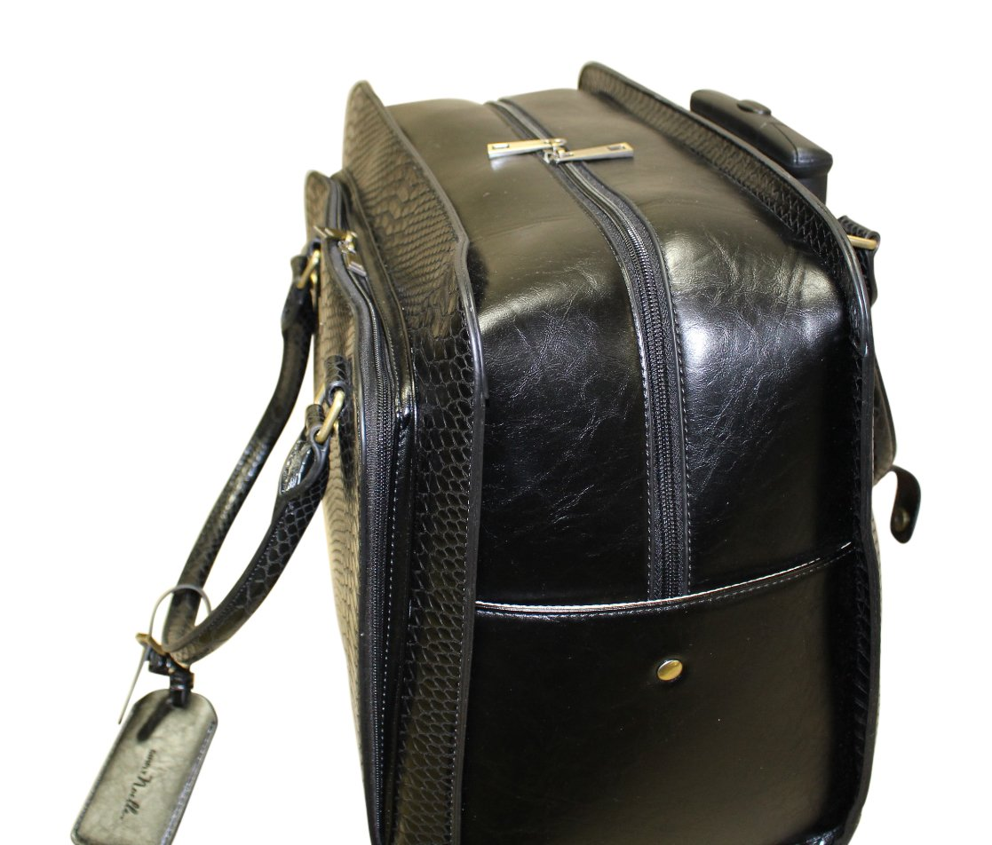 Simply Noelle Nile Roller Bag (Black) by Simply Noelle (Image #4)