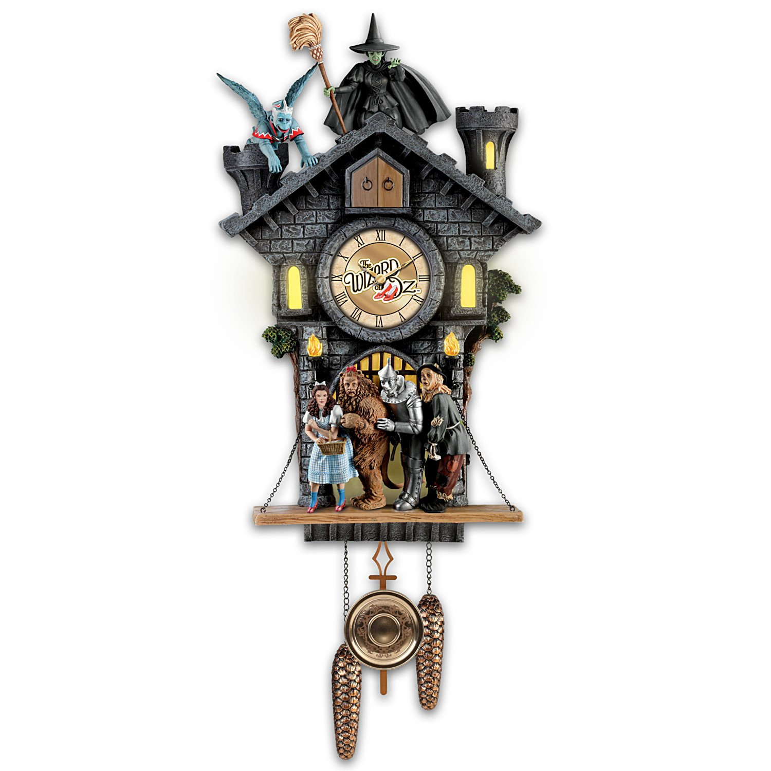 All In Good Time, My Little Pretty Cuckoo Clock With Barking Toto by The Bradford Exchange