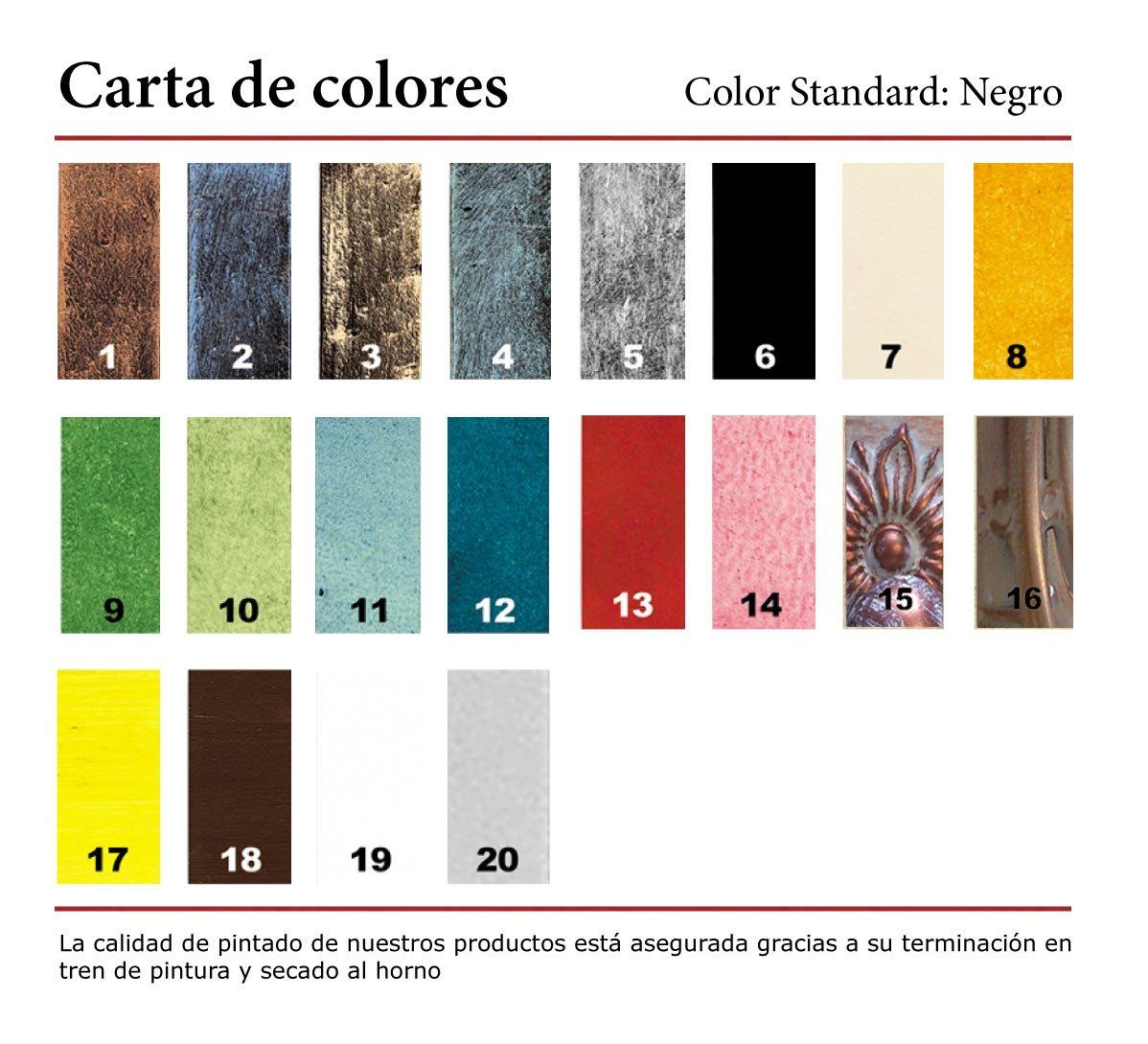 Rustiluz Mesa de forja Modelo Cádiz 601kr Regulable en ...