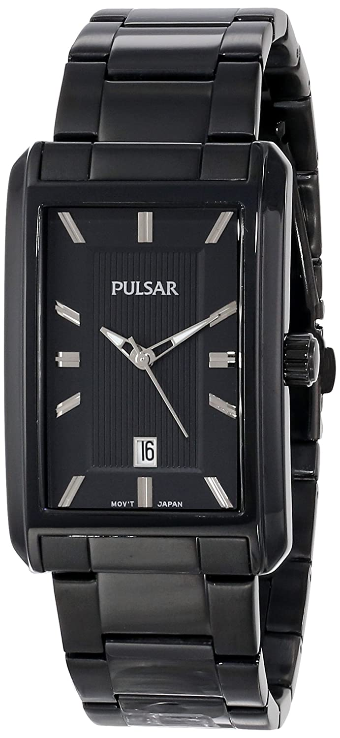 Amazon.com: Pulsar Mens PH9021 Analog Display Japanese Quartz Black Watch: Watches