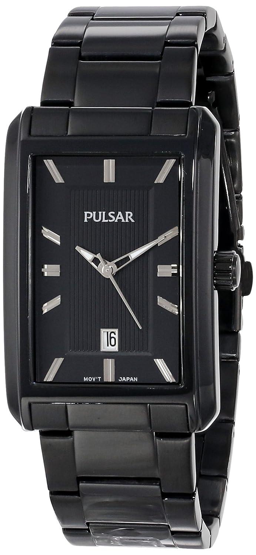 Amazon.com: Pulsar Mens PH9021 Analog Display Japanese Quartz Black Watch: Watches