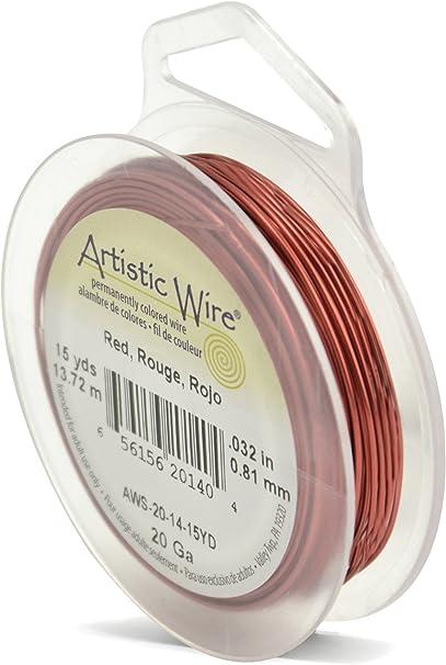 Beadalon Artistic Wire Jewellery Craft Choose Colour /& Gauge Copper.... Silver