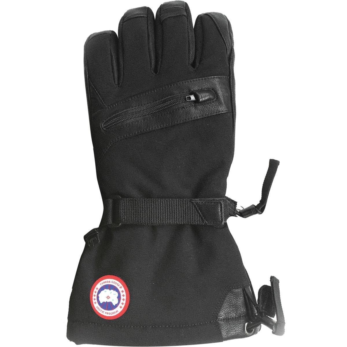 (カナダグース)Canada Goose Northern Utility Glove メンズ スキー ウェア グローブ黒 [並行輸入品] 黒 日本サイズ XL相当 (US XL)