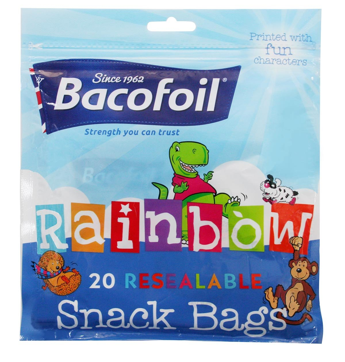 Baco Rainbow Snack Bag 20s 100g 100432214