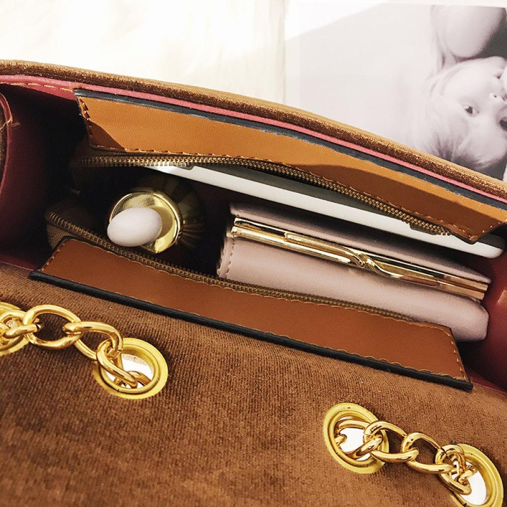CG serrure sac à bandoulière velours sac à main petite chaîne en or sac de  soirée ... 3b807175335