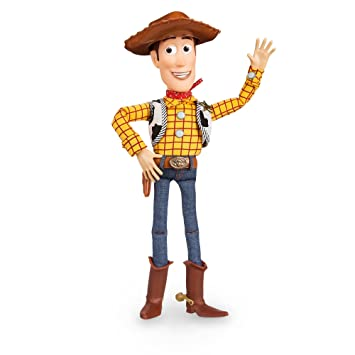 Disney Toy Story Talking Woody Pull String Doll ...ENGLISH  Amazon ... 99ee50ad199