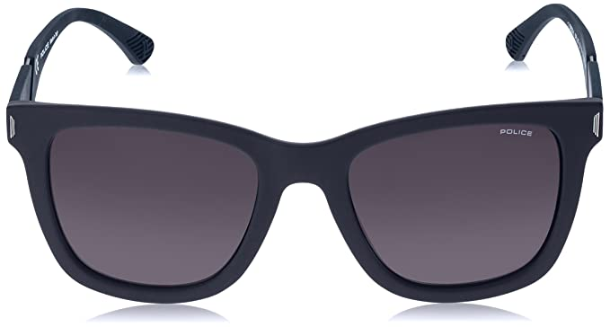 Amazon.com: Police Mens Spl357 Polarized Square Sunglasses ...