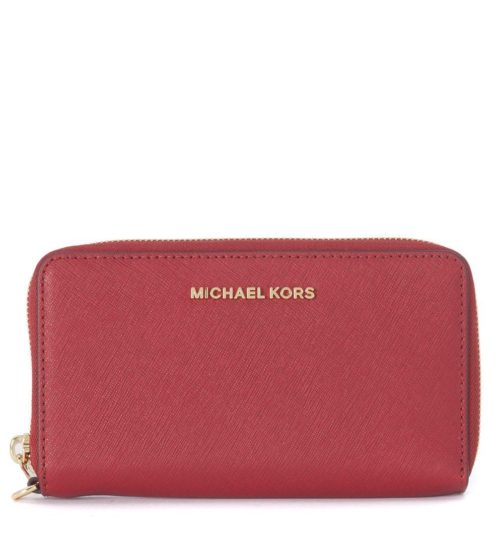MICHAEL Michael Kors Jet Set Travel Large Saffiano Leather Phone Wristlet