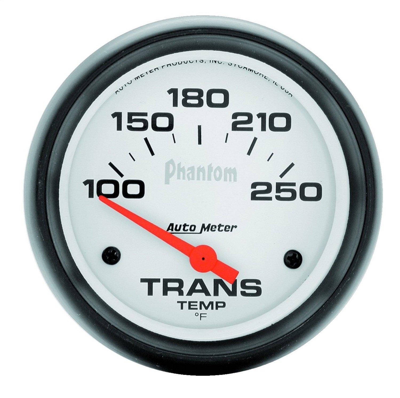 Auto Meter 5857 Phantom Electric Transmission Temperature Gauge by Auto Meter