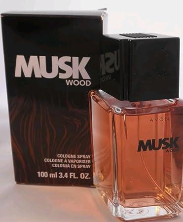 Avon Musk Wood Cologne Spray 3.4 Fl Oz / 100 Ml