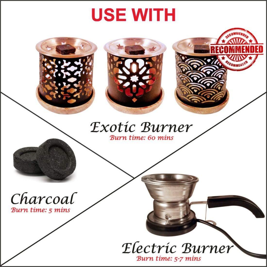 Dukhni Oud Bakhoor Incense Variety Box & Rainbow Bakhoor Burner - Gift Set & Starter Kit by Dukhni (Image #6)