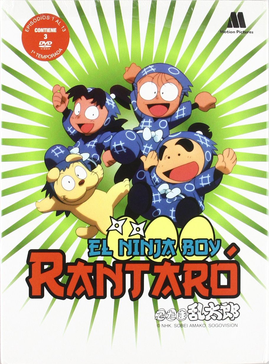 Amazon.com: Rantaro El Ninja Boy 1ª Temp. (Import Movie ...