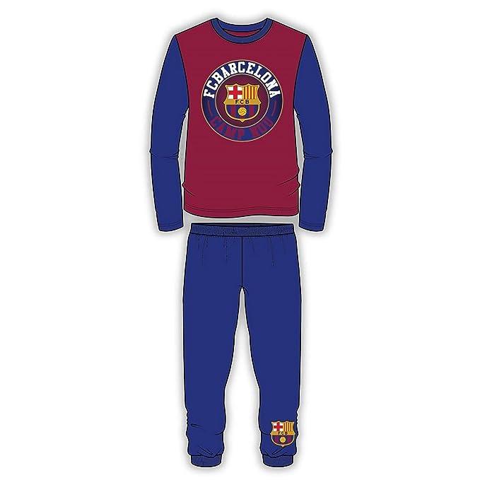 FC Barcelona - Pijama Infantil de Manga Larga de FC Barcelona (4-5 Años 7129d12cbd6