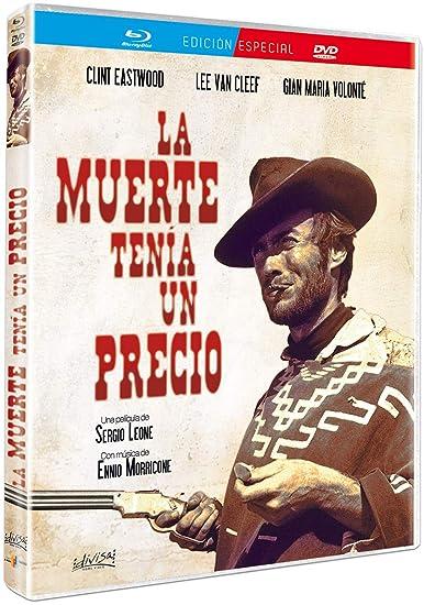 La muerte tenía un precio [Blu-ray]: Amazon.es: Clint Eastwood, Lee Van Cleef, Gian María Volonté, Sergio Leone, Clint Eastwood, Lee Van Cleef: Cine y Series TV