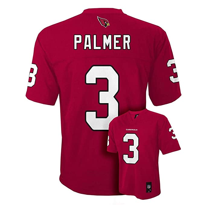 4048882f6ece Carson Palmer Arizona Cardinals  3 Red Toddler NFL Home Replica Jersey (2T)