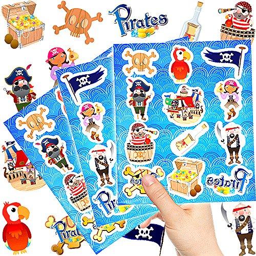 "German-Trendseller ® 12 feuilles sticker de piratesâ"""