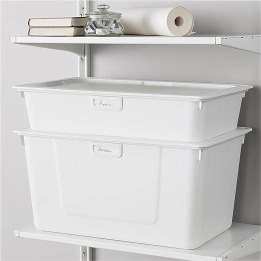 IKEA Algot – Caja blanco 2 unidades 2,50 libras £ 1,50: Amazon.es ...