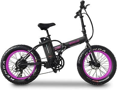 Amazon.com : Emojo Lynx Folding Electric Bike, Moped Pedal