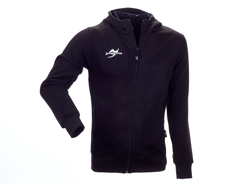 Ju-Sports Herren Teamwear Element Core Zip Hoodie Schwarz