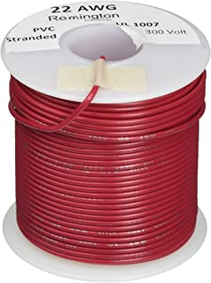 Awg22 wire diameter wire center remington industries 22ul1007sldred ul1007 22 awg gauge solid hook rh amazon com awg22 wire diameter insulated wire diameter chart greentooth Choice Image