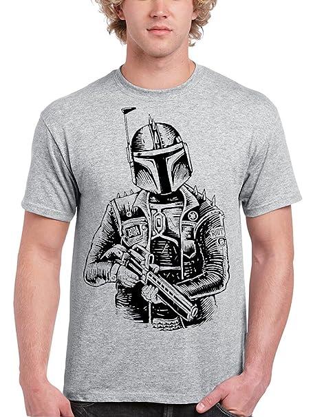 Camisetas La Colmena, 096-Star Wars Boba Punk