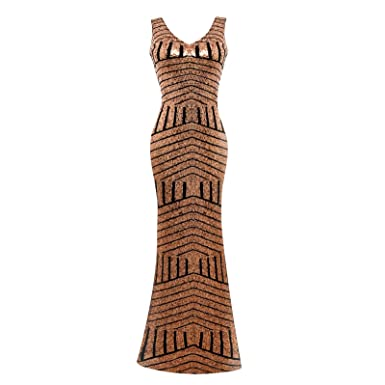 Amazon.com: Edith Windsor Women\'s V-neck Sequins Mermaid Prom Gown ...