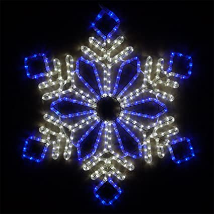 Wintergreen Lighting LED Snowflake Light Christmas Decorations Outdoor Snowflake  Christmas Lights, Christmas Snowflake, LED - Amazon.com: Wintergreen Lighting LED Snowflake Light Christmas
