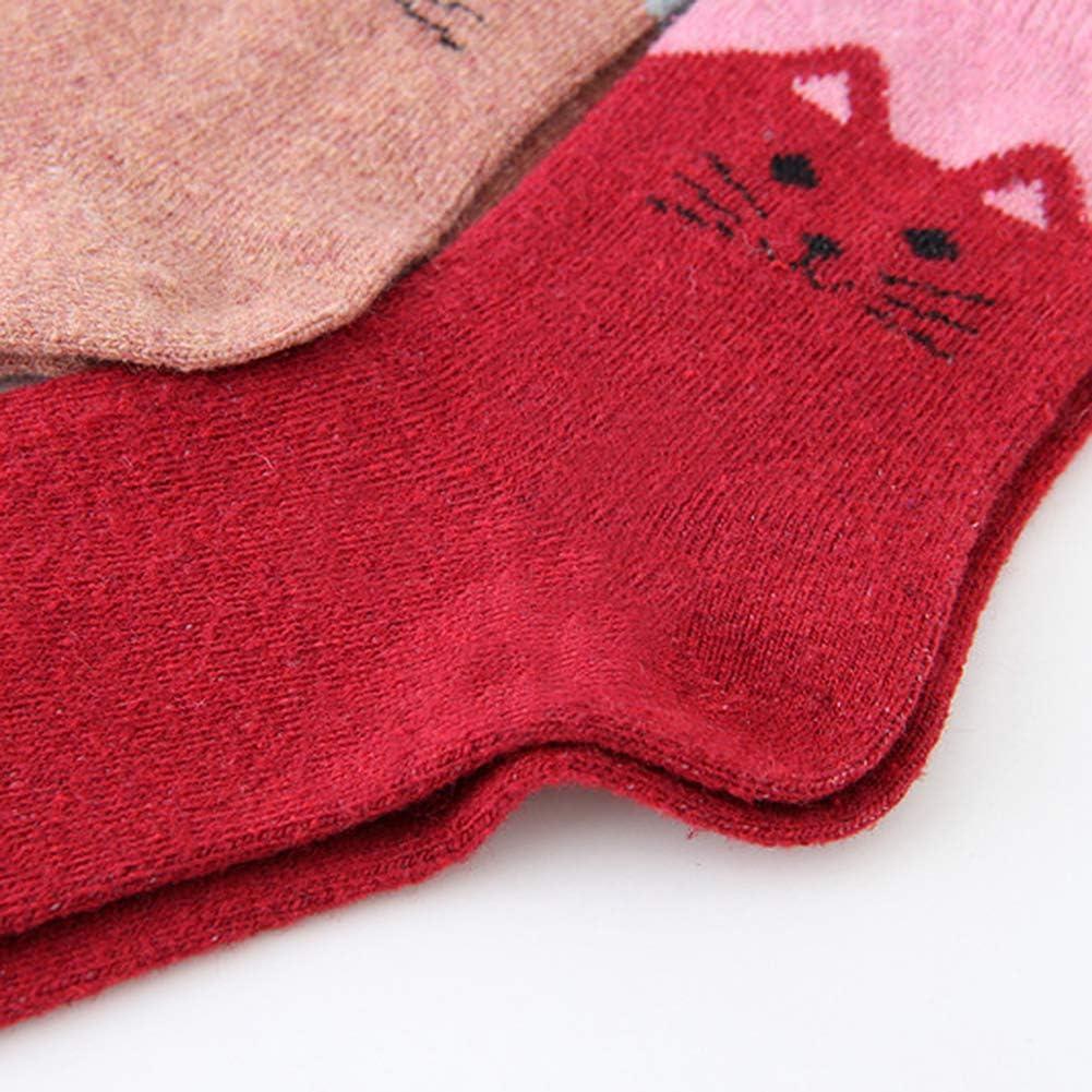 Femmes Bottes en Laine Mélangée Chaussettes Randonnée chaud taille UK 4-7