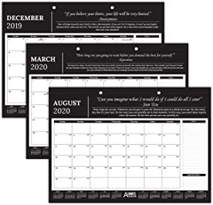 "Always Be Better Professional Monthly Motivational & Inspirational Desk/Wall Calendar 2019-2020 - 17"" x 12"" - Great for Business, Office, Academic, Daily Use"