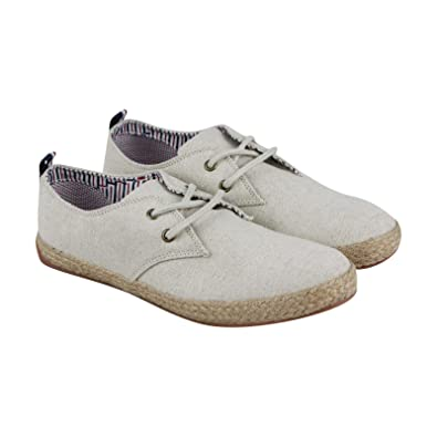 76ab4dc273dcc Amazon.com: Ben Sherman New Jenson Mens Beige Canvas Lace Up ...