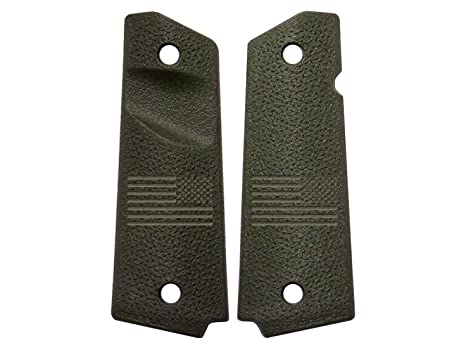 NDZ Performance for 1911 TSP Grip Panels Magpul ODG Trapezoidal Surface Projections MAG544 United States Battle