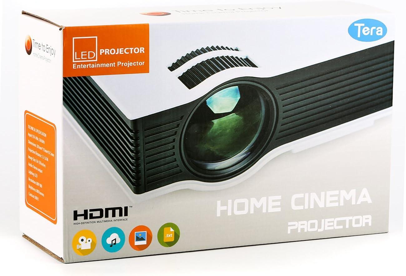Tera UNIC UC40+ Aparato de proyección de Cine en casa Proyector ...
