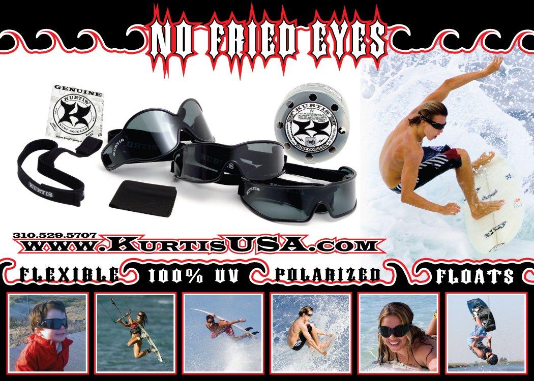 Amazon.com: Kurtis Necker Surf anteojos con lentes ...