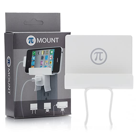 5f2134c7dd8 Amazon.com: pi Mount Charger Mount for iPhone/iPod, White: Cell ...