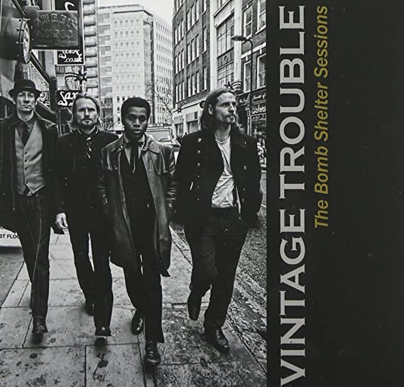 Image result for vintage trouble the bomb shelter sessions