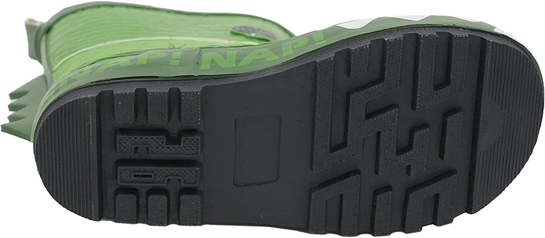 Snappy Croc Bottes en Caoutchouc pour gar/çon Vert