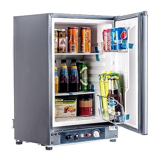 Propane Refrigerator For Sale >> Smeta 12v 110v Gas Propane Refrigerator Rv Truck Portable Fridge Cooler 2 1 Cu Ft