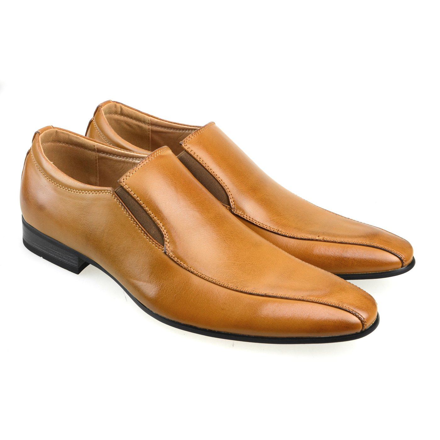 MM/ONE Mens Shoes Slipon Dress Shoes Oxford Laceup Shoes Gift Shoes Brown 43 EU (US Men's 10 M) by MM/ONE