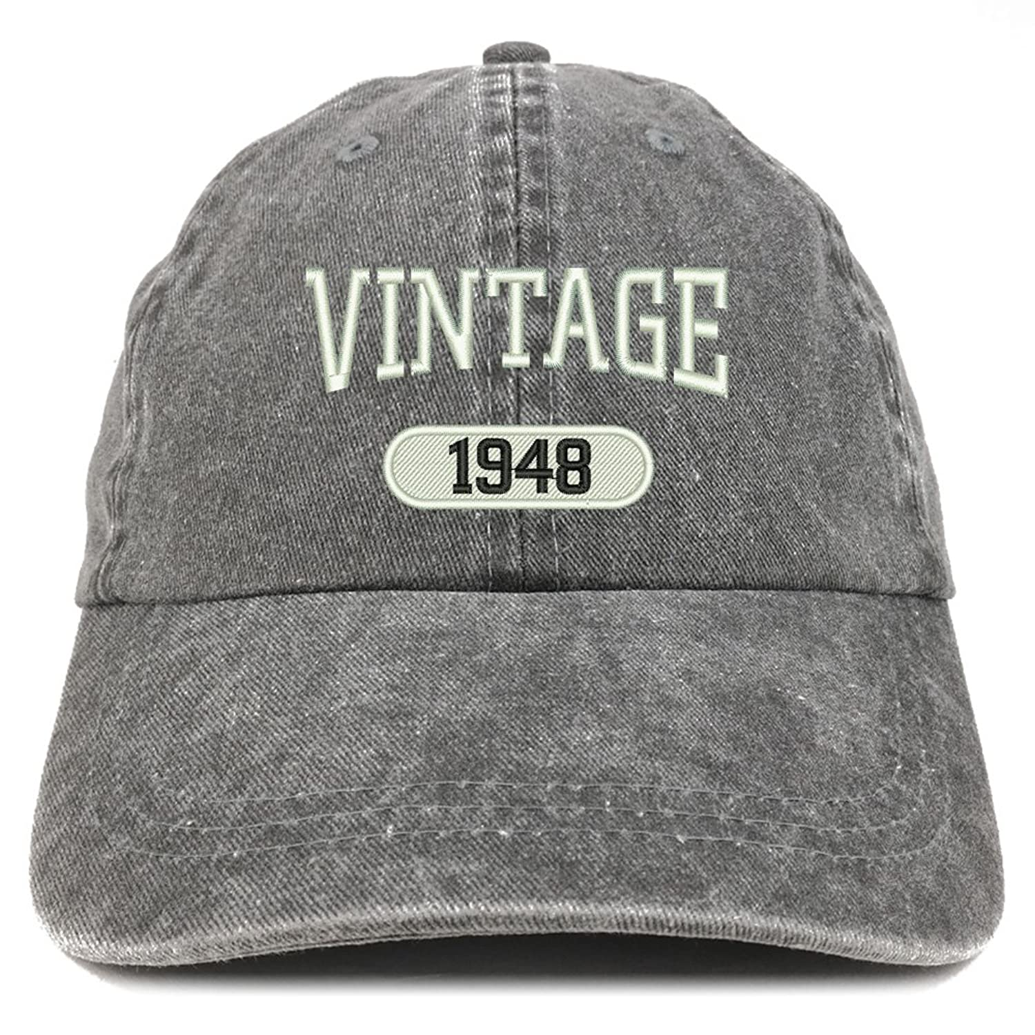 0d935b4d Low Profile, Pigment Dyed, Cotton Twill Washed Cap 6 Panels with 6  Embroidered Ventilation Eyelets Self-Fabric Strap with Easy Adjustable  Brass Snap Buckle ...
