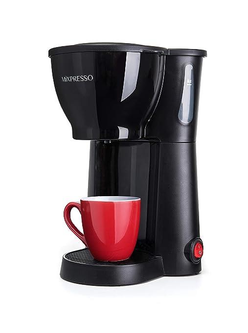 Amazon.com: Mini Compact Cafetera de filtro (10.5oz), Negro ...