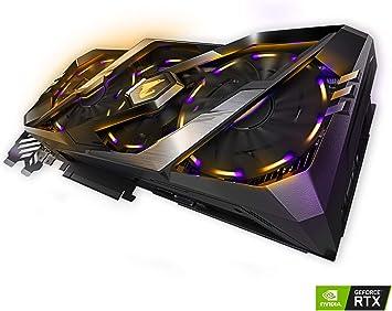 Amazon.com: GIGABYTE AORUS GeForce RTX 2080 - Tarjeta de ...