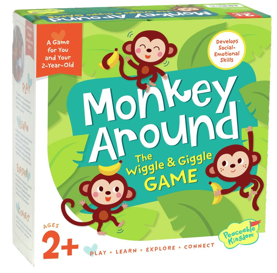 The Wiggle & Giggle Game for 2-Yr-Olds