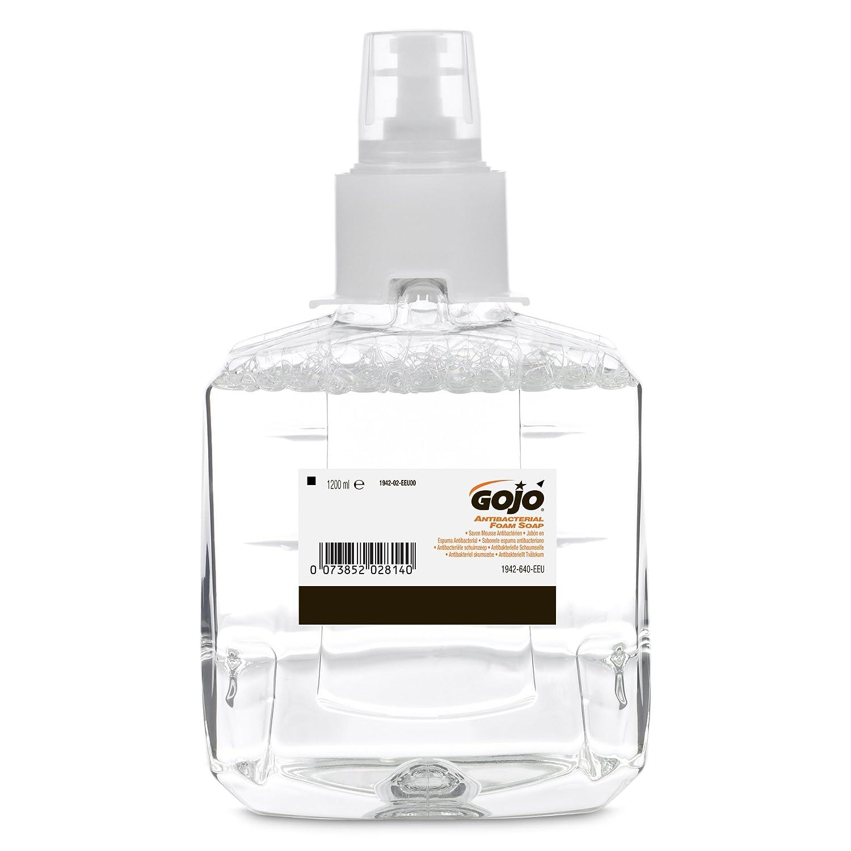 GOJO 1942-02-EEU00 Antbacterial Foam Soap Nachfü llpackung mit 1200 ml (2-er Pack) GOJO Industries Inc.