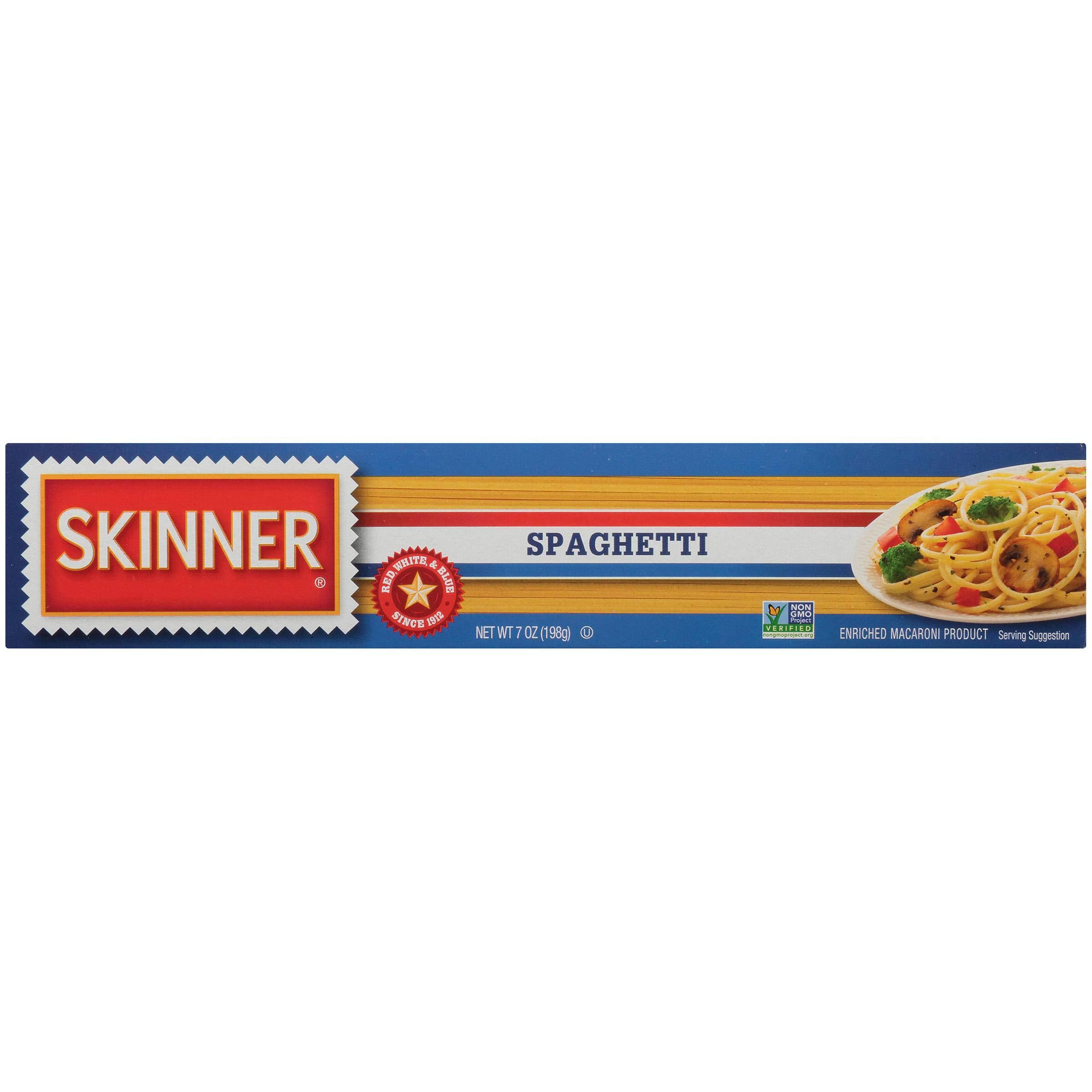 Skinner Long Spaghetti, 7 Ounce (Pack of 24) by SKINNER