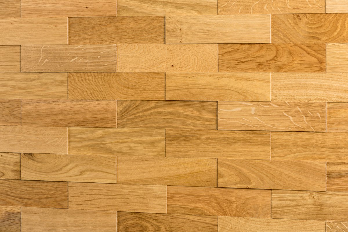 Amazon.de: wodewa Eiche Natur Holz Wandverkleidung | 1m² 3D-Optik ...